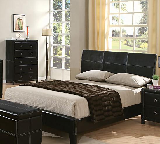 black brown bedroom furniture photo - 6