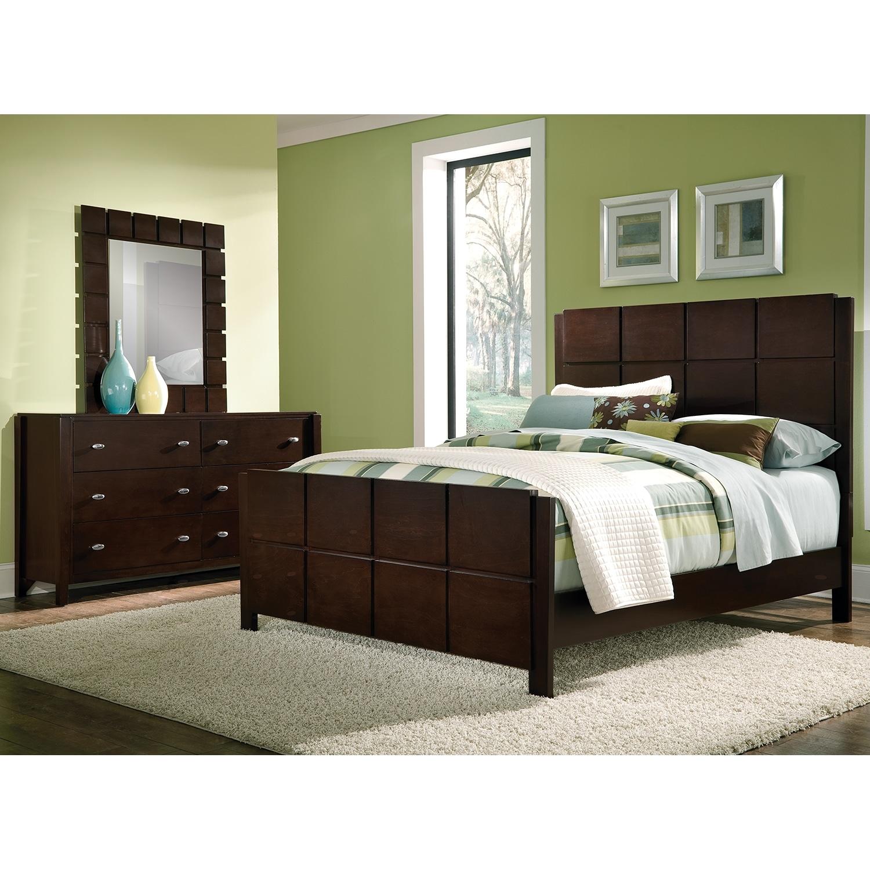 black brown bedroom furniture photo - 8