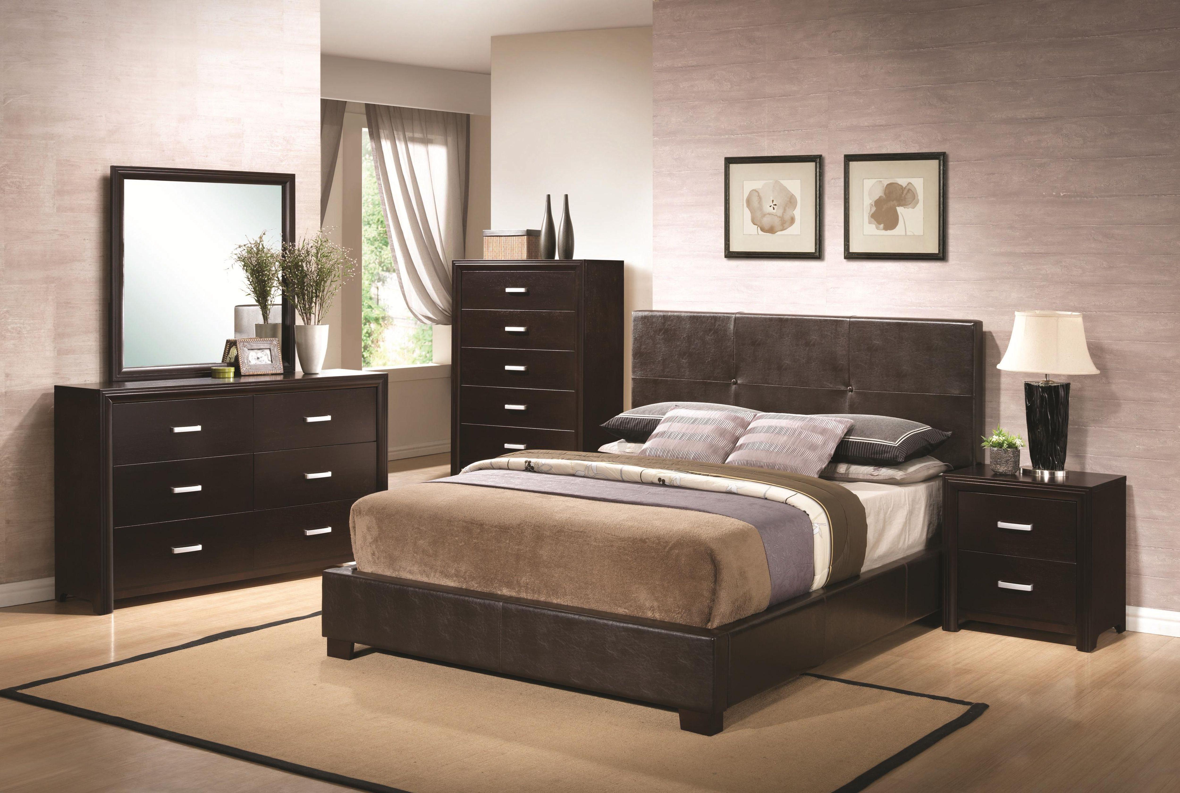 black brown bedroom furniture photo - 9