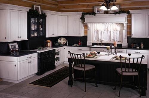 black country kitchen designs photo - 3