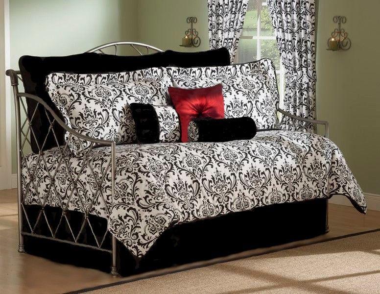 black daybed bedding sets photo - 3