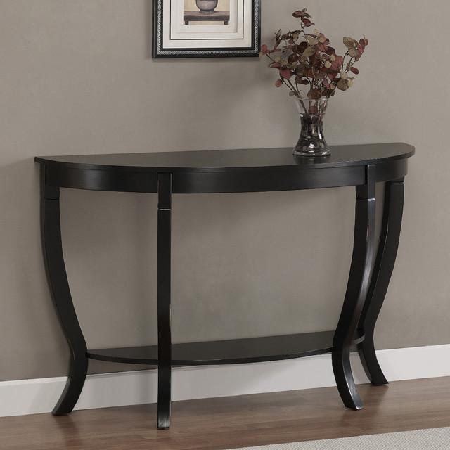 black distressed sofa table photo - 3