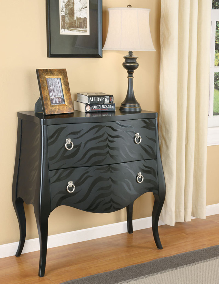 black finish sofa table photo - 9