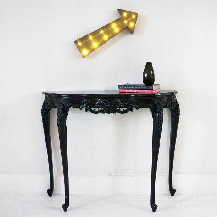 black french sofa table photo - 3