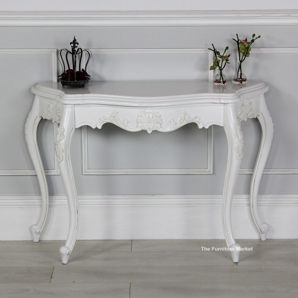 black french sofa table photo - 4