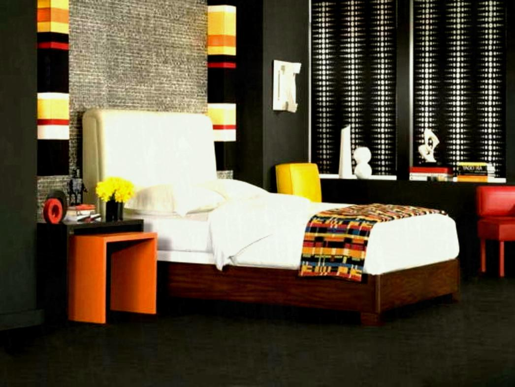 black gloss bedroom design photo - 10
