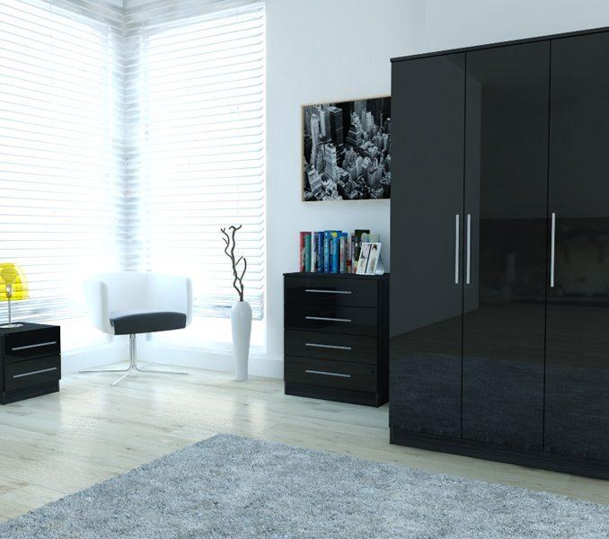 Black Gloss Bedroom Furniture Ikea
