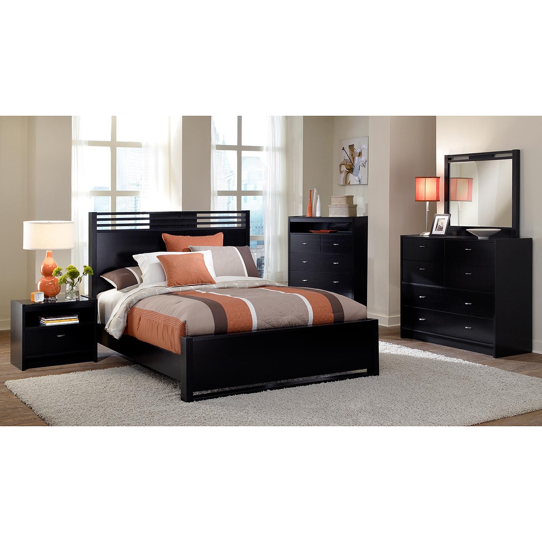 black gloss bedroom furniture ikea photo - 2