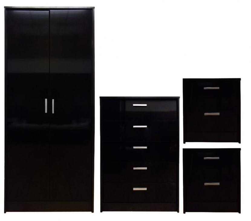 black gloss bedroom furniture ikea photo - 3