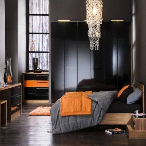 black gloss bedroom furniture ikea photo - 4