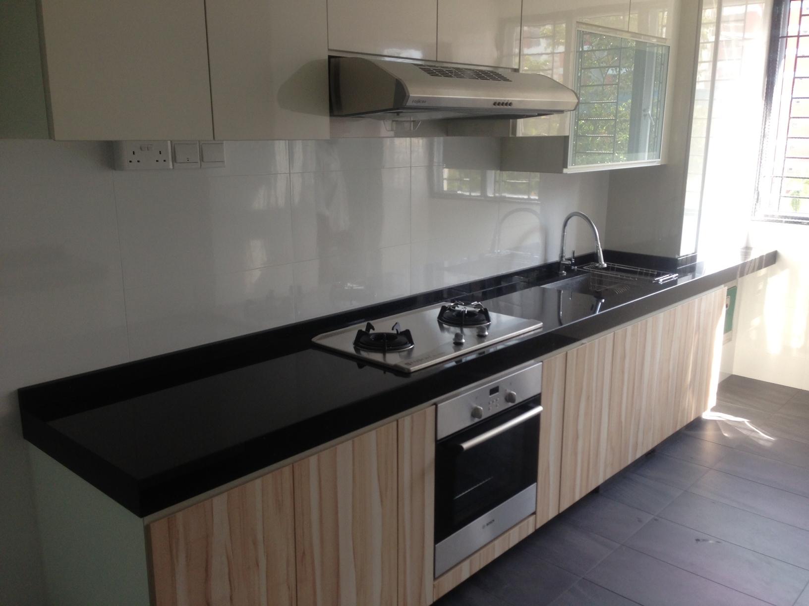 black granite bar sink photo - 4