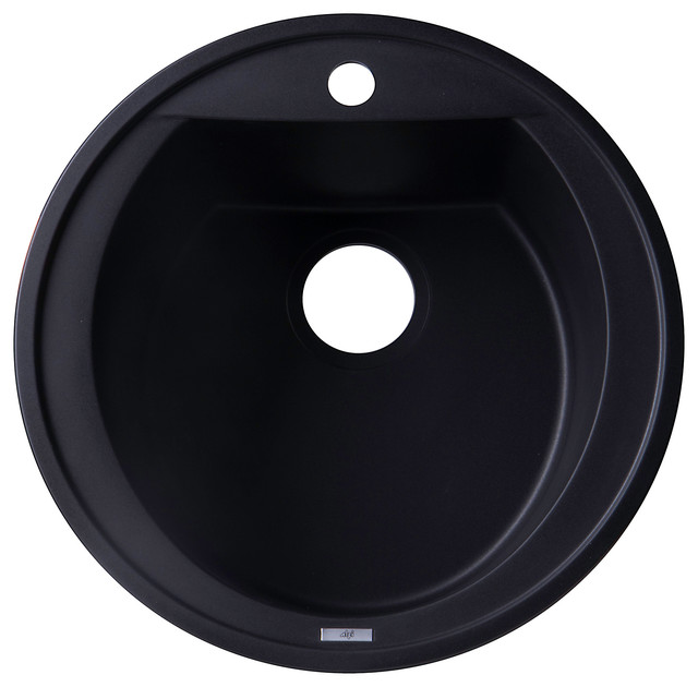 black granite bar sink photo - 5