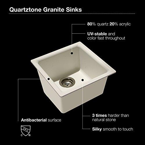 black granite bar sink photo - 9