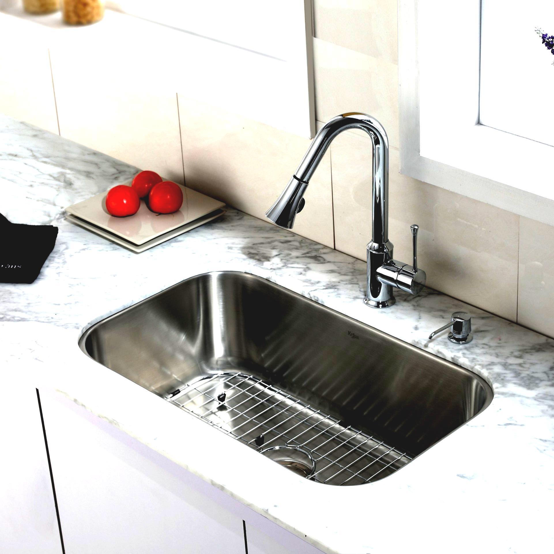 black granite sink and faucet photo - 8