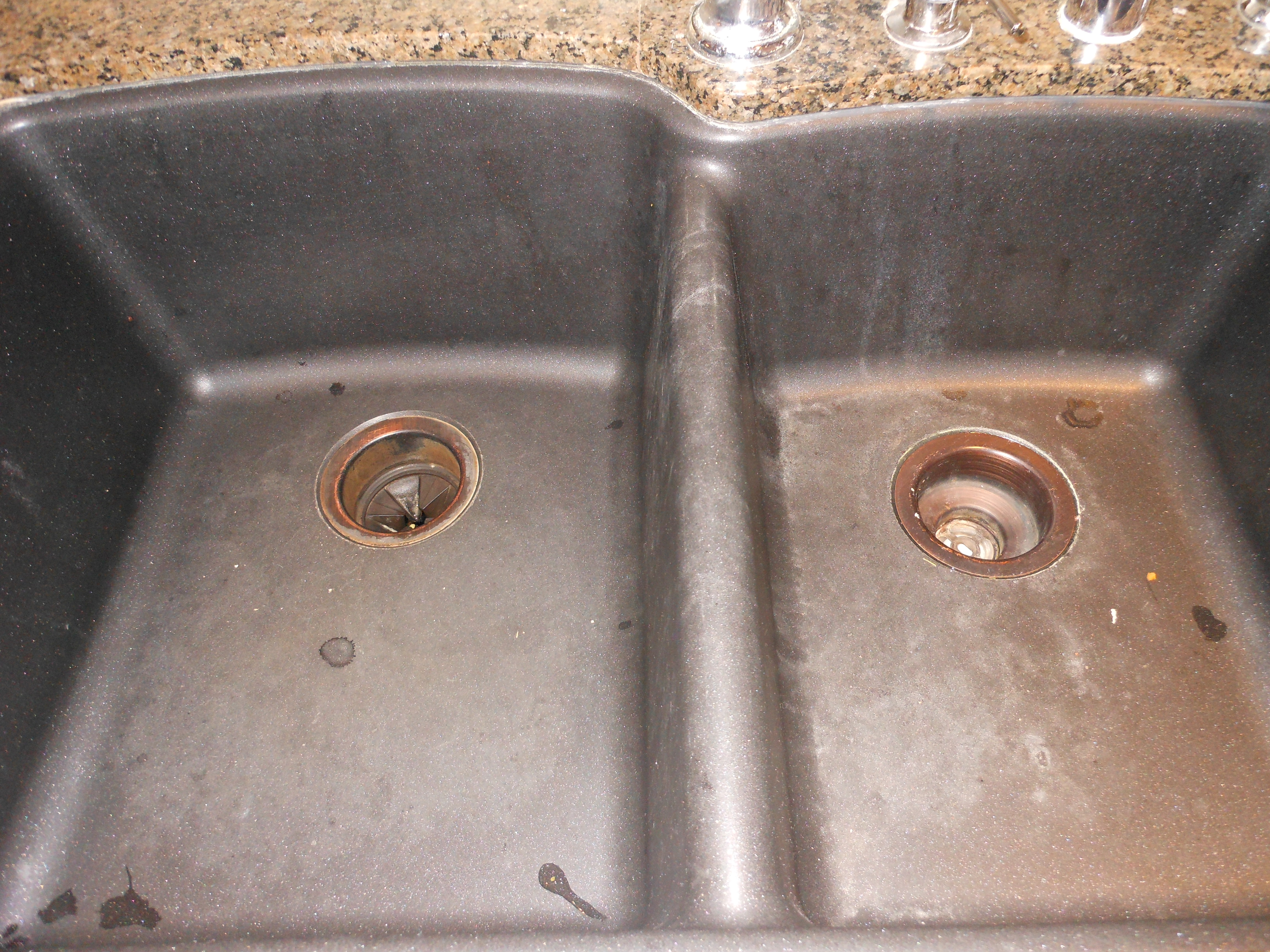 Charmant Black Granite Sink Cleaner Photo   2