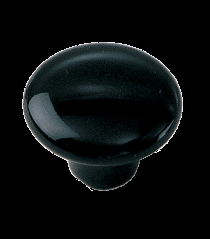 black kitchen cabinets knobs photo - 2