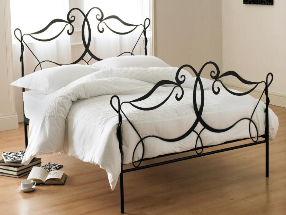 black metal bedroom furniture photo - 6