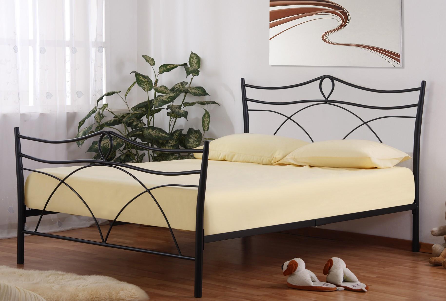 black metal bedroom furniture photo - 8