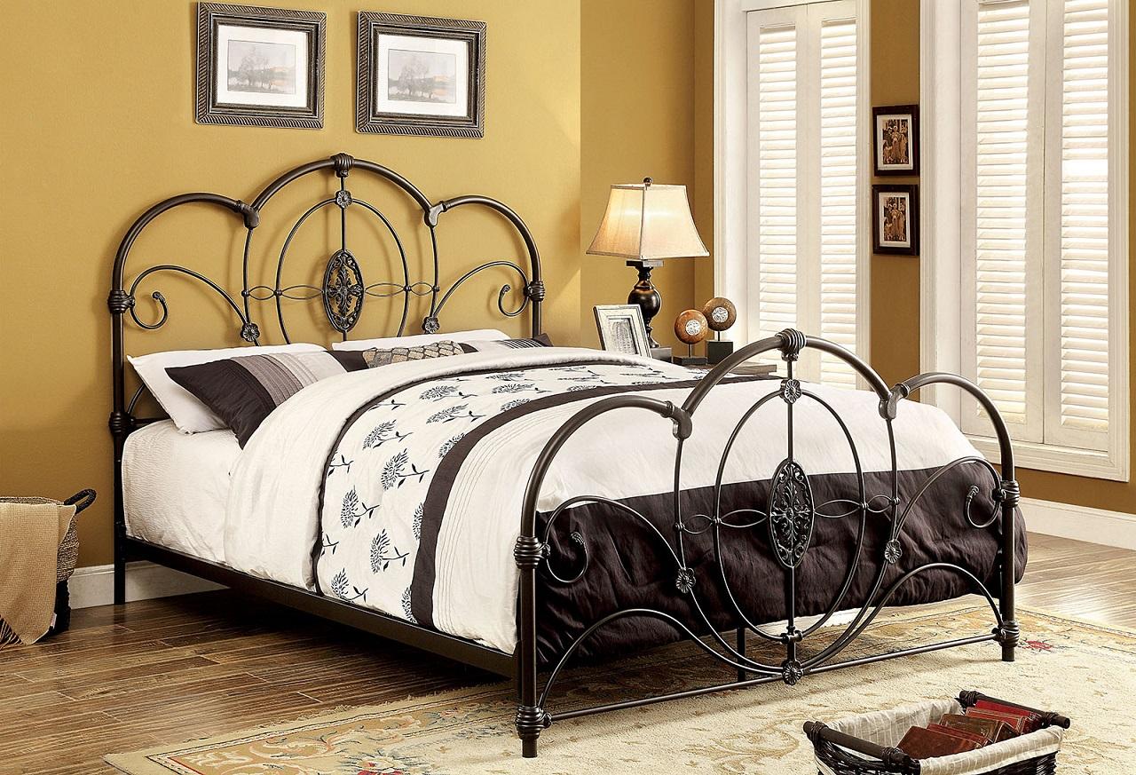 black metal bedroom furniture photo - 9