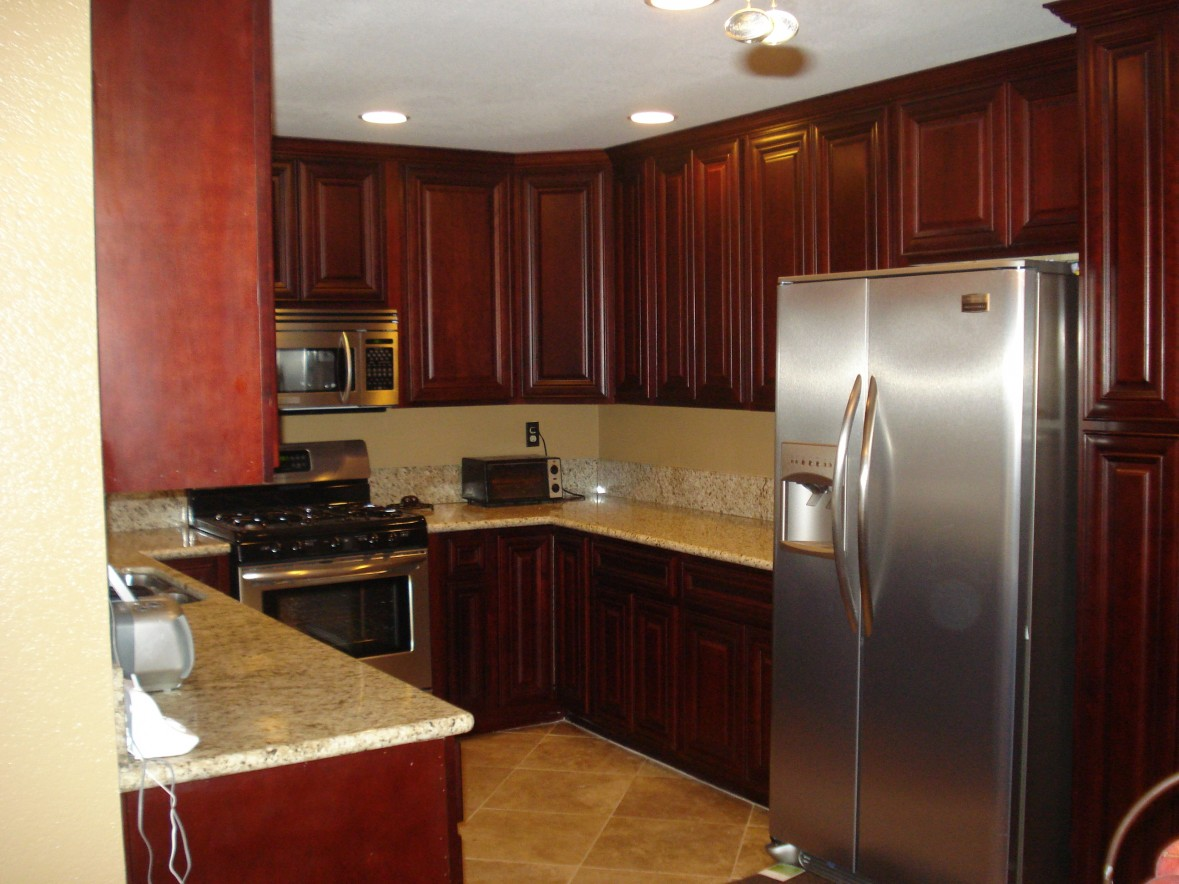 black metal kitchen cabinets photo - 9