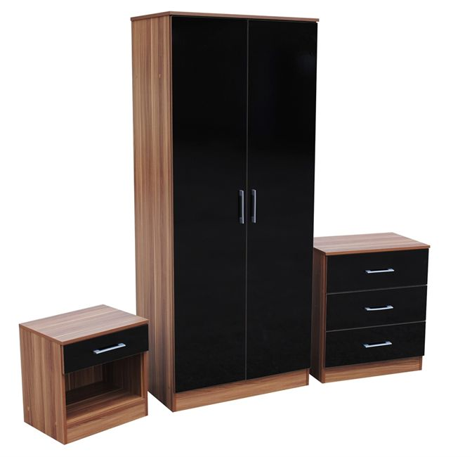 Black Oak Bedroom Furniture Hawk Haven