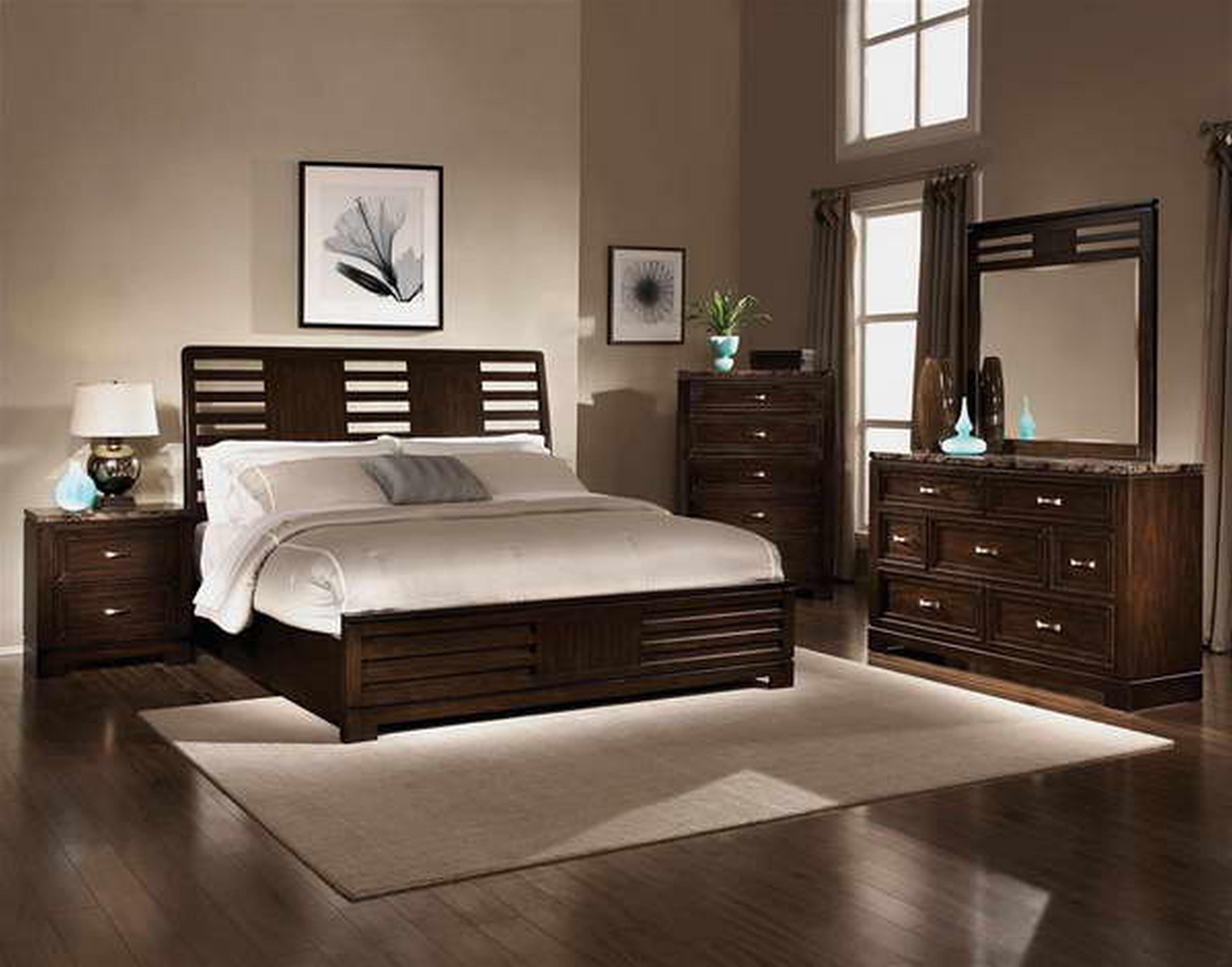 black oversized bedroom furniture photo - 4
