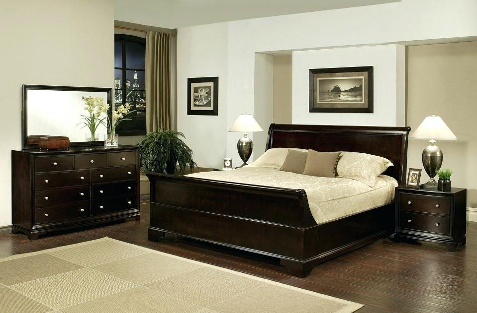 black oversized bedroom furniture photo - 8
