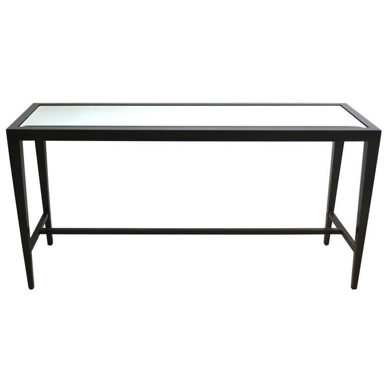 black sofa table photo - 10