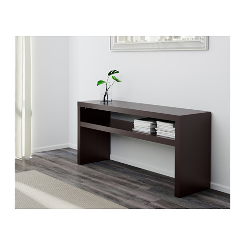 black sofa table ikea photo - 7