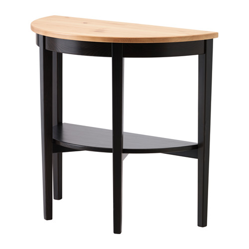 black sofa table ikea photo - 9