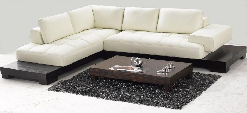 black sofa white coffee table photo - 10