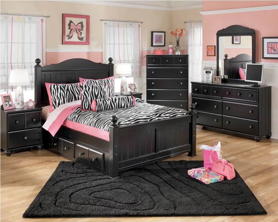 black toddler bedroom furniture photo - 1