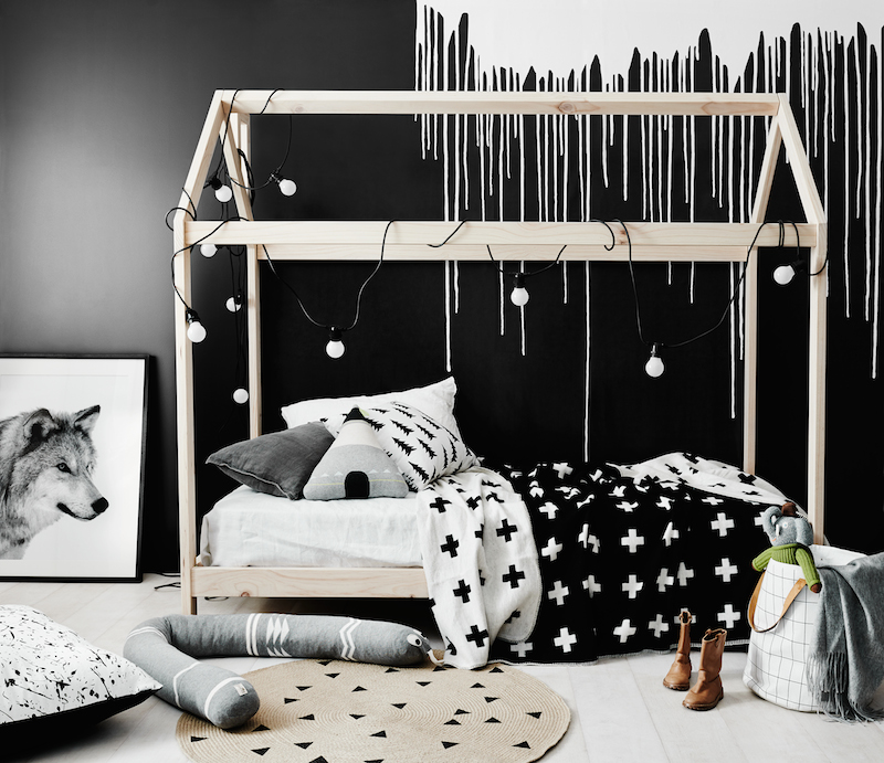 black toddler bedroom furniture photo - 10