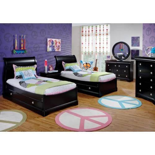 black toddler bedroom furniture photo - 7