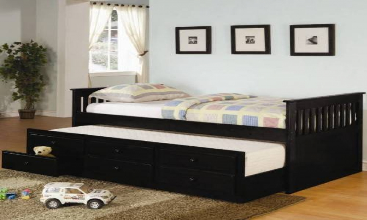 black twin bedroom furniture sets photo - 10