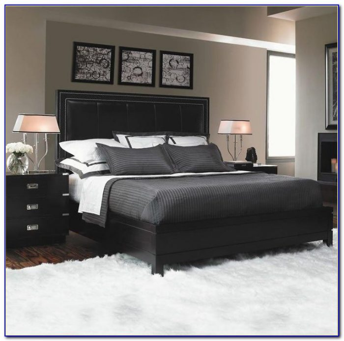 black twin bedroom furniture sets photo - 7