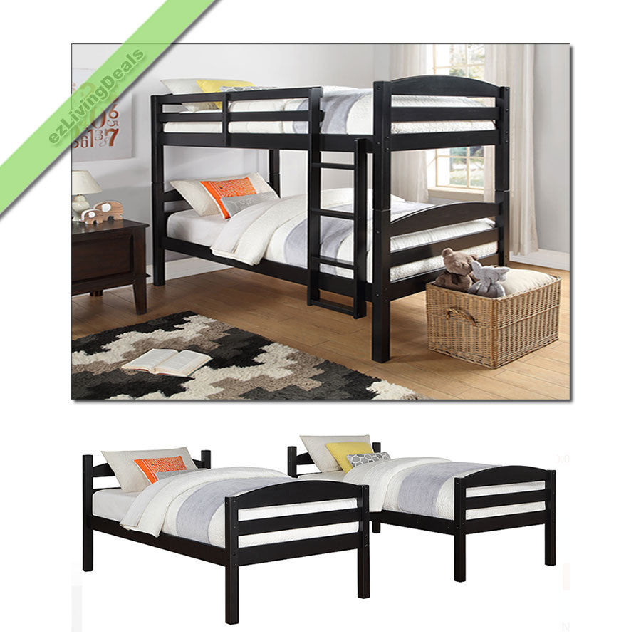 black twin beds for kids photo - 10