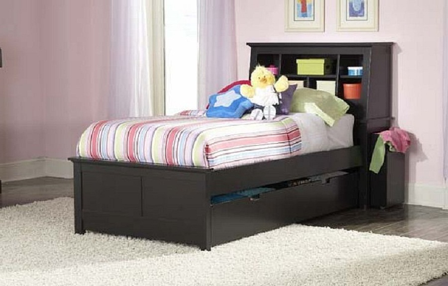 black twin beds for kids photo - 7