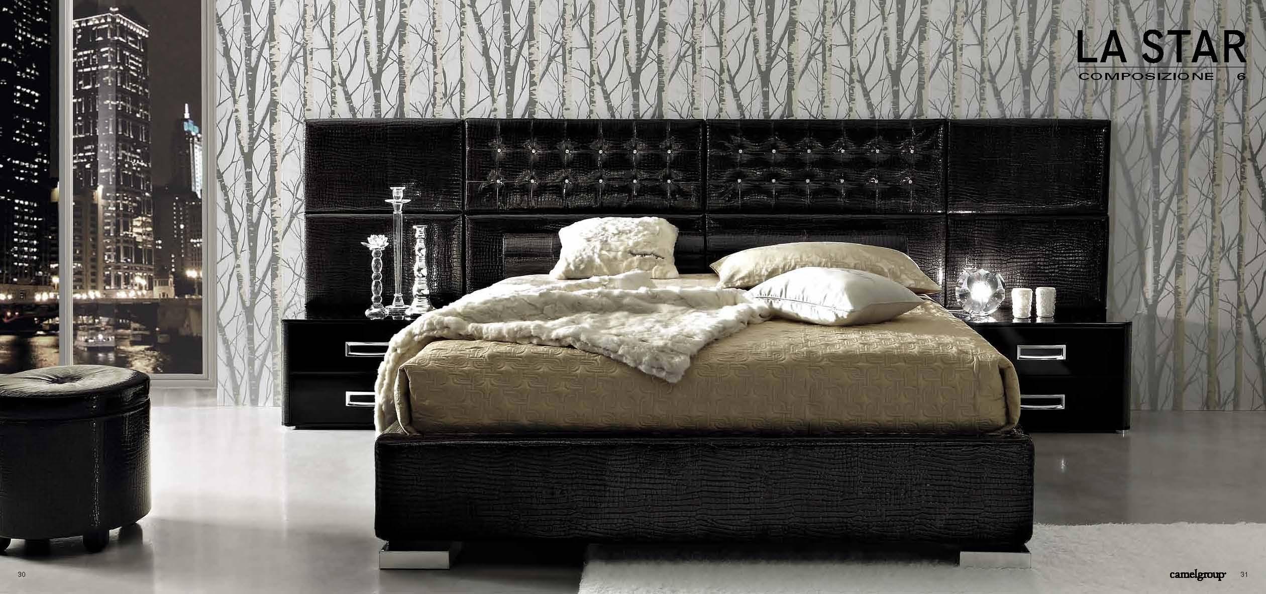 black victorian bedroom furniture photo - 5