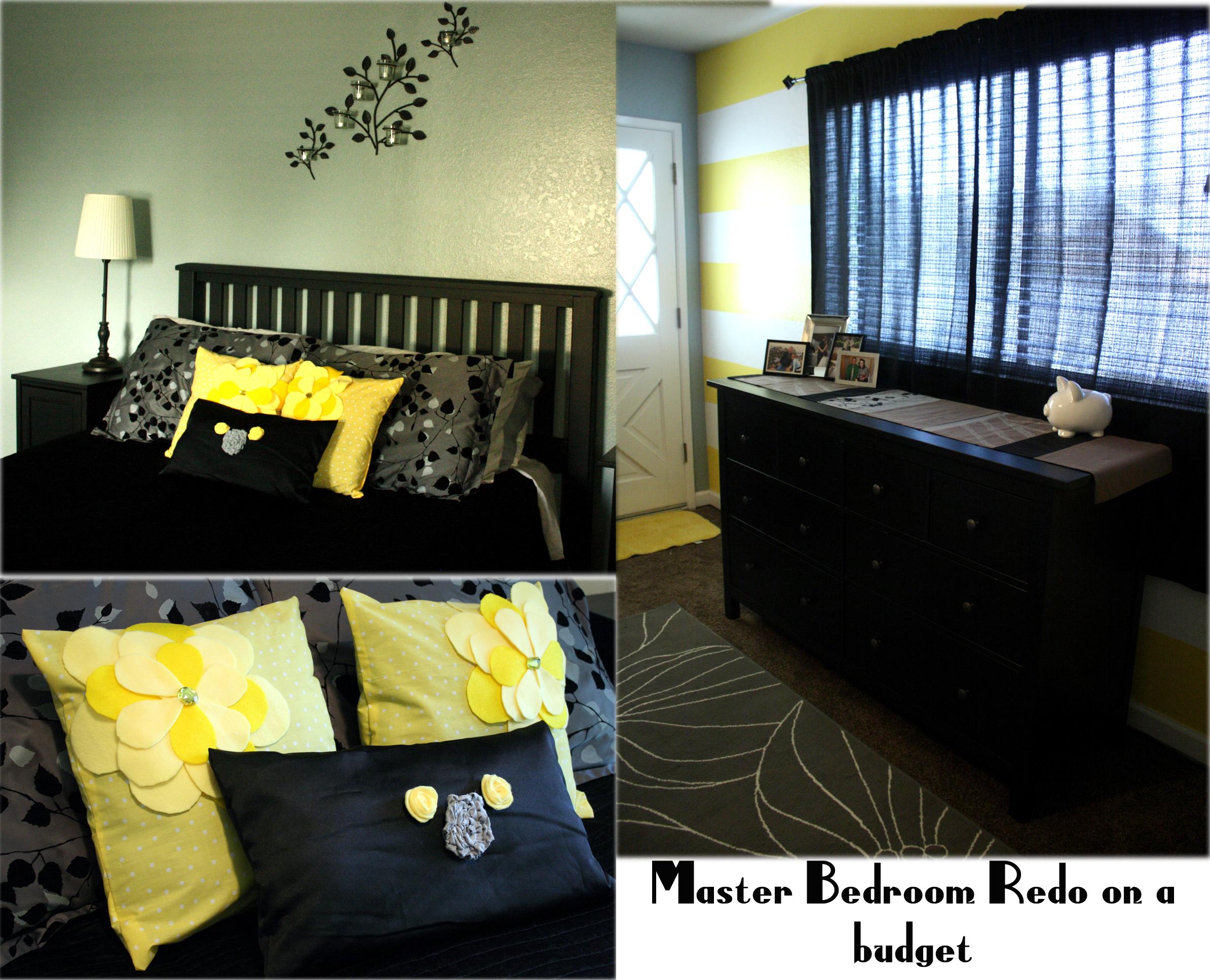 black yellow bedroom design photo - 9