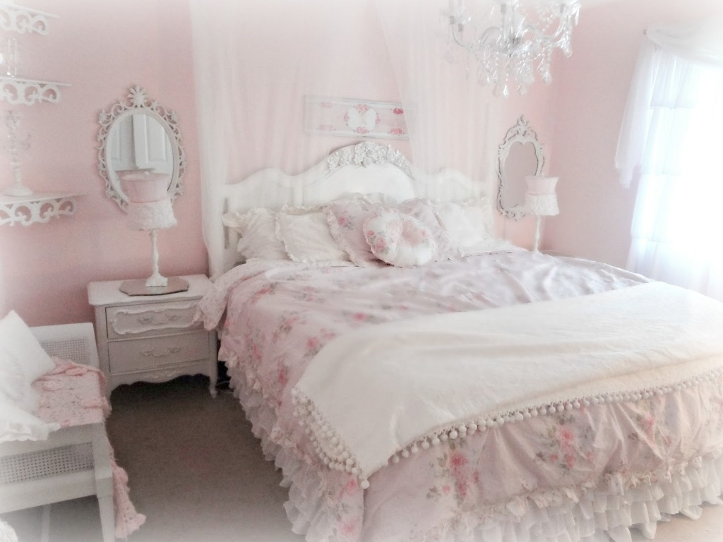 Incroyable Blue And White Shabby Chic Bedrooms Photo   4