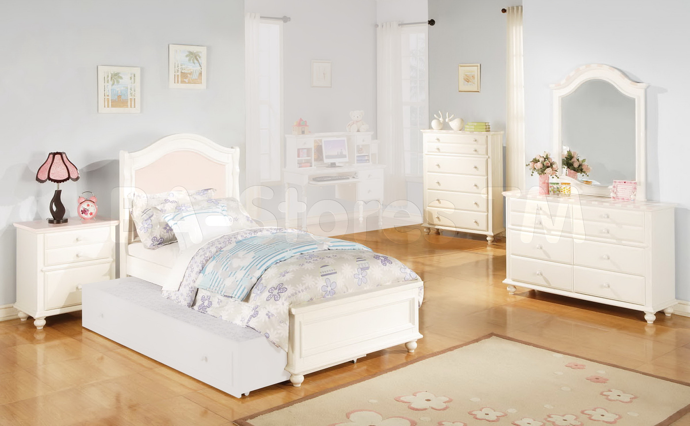 boys room with white furniture photo - 7