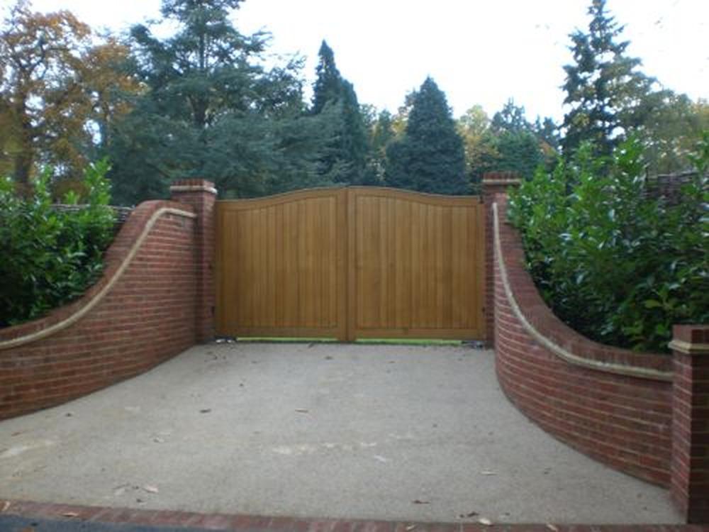 brick entrance designs driveway photo - 10