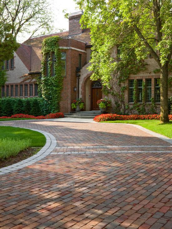 brick entrance designs driveway photo - 5