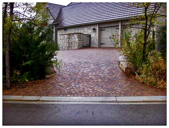 brick entrance designs driveway photo - 6