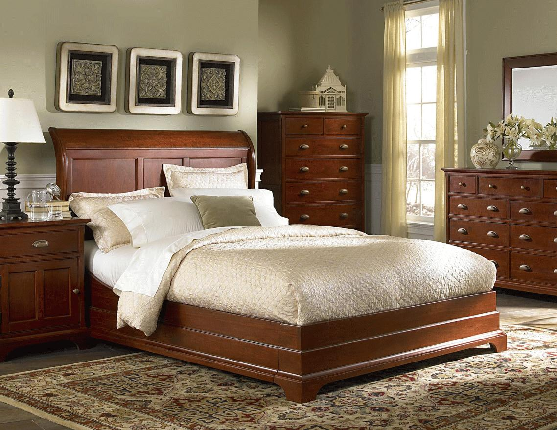 brown bedroom furniture decorating ideas photo - 7