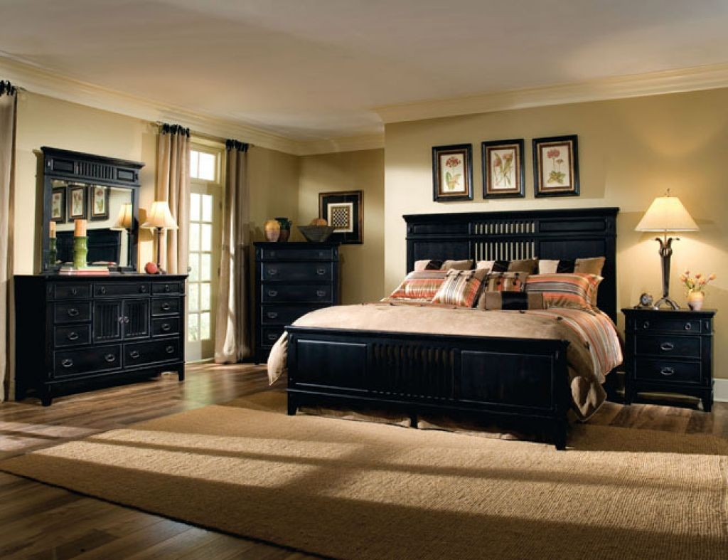 brown bedroom furniture decorating ideas photo - 9