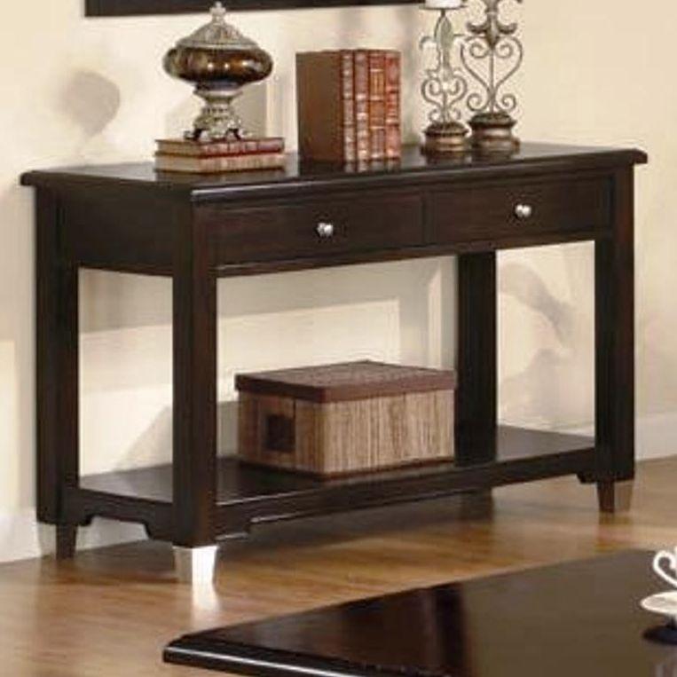 brown black sofa table photo - 9