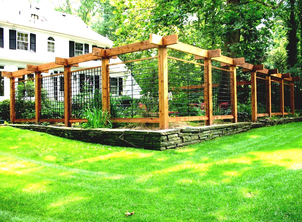 building a vegetable garden fence photo - 6