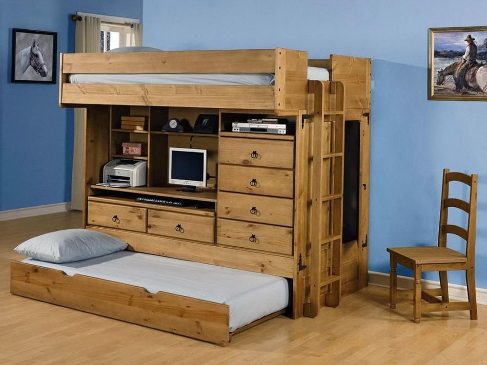 built in bedroom furniture for kids photo - 8